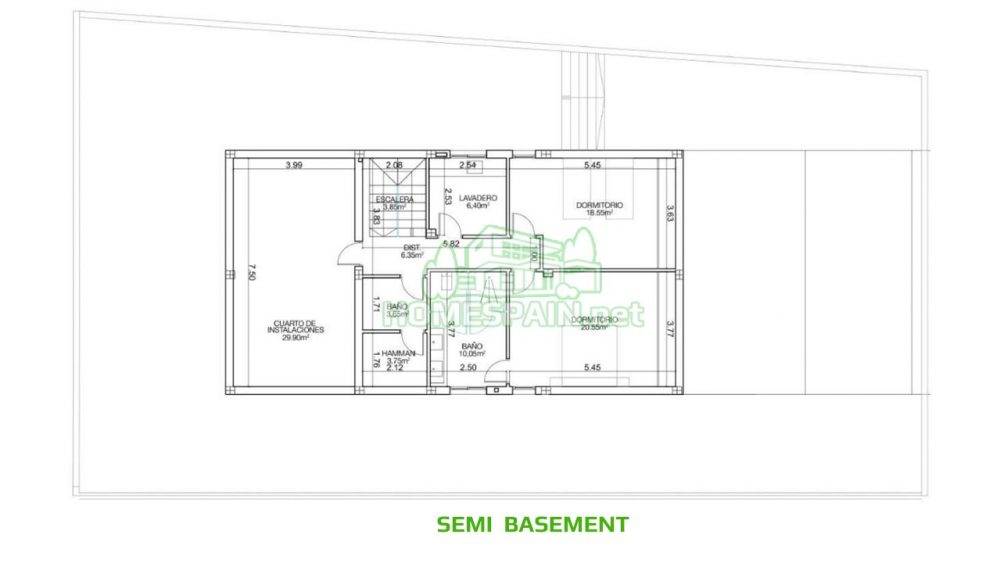 semi basement